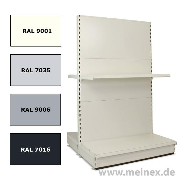Gondelregal - Konfigurator - Neuware
