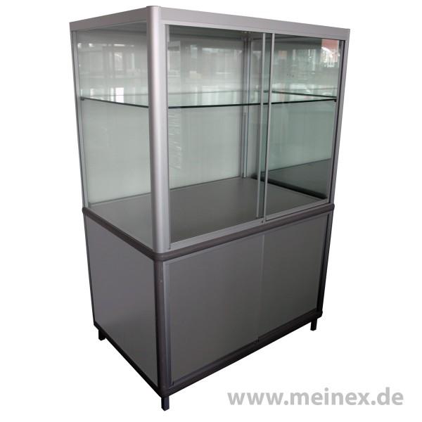 Glasvitrinenschrank mit Sicherheitsglas - gebraucht