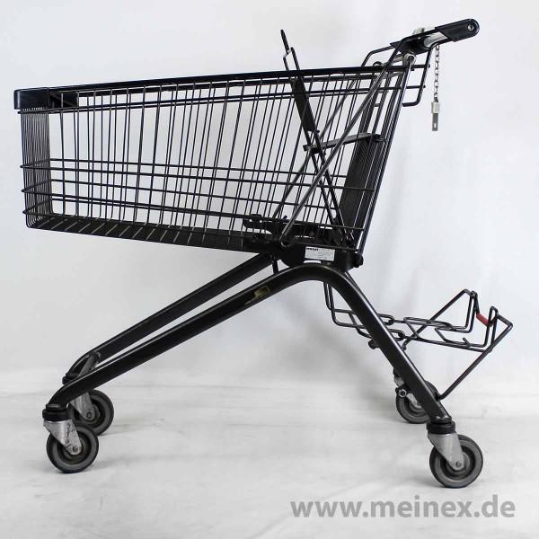 Einkaufswagen WANZL ELA 130 - Anthrazit - gebraucht