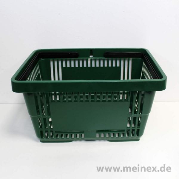 Einkaufskorb / SB-Einkaufskorb - 22 Liter - Grün - Neuware