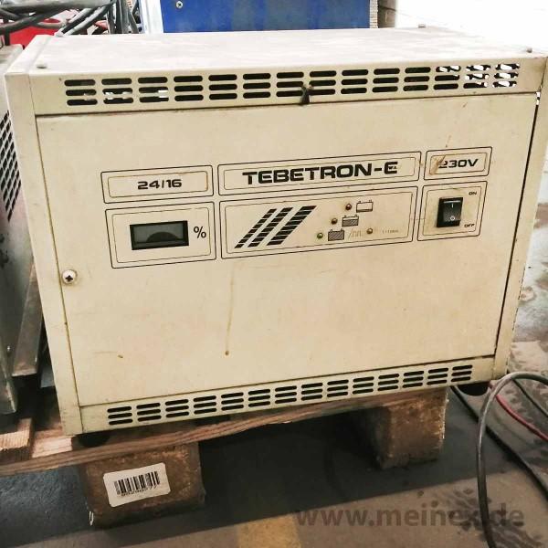 Ladegerät TEBETRON E 24/16 230 V - gebraucht