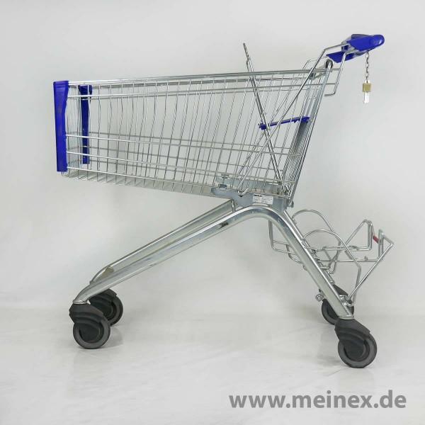 Einkaufswagen WANZL ELX 130 - Blau - gebraucht