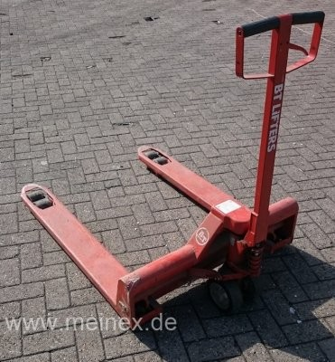 Hubwagen BT Lifter - rot - Länge 115cm - gebraucht