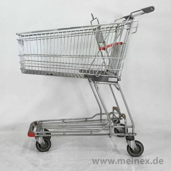 Einkaufswagen WANZL D130 RC - Kindersitz orange - gebraucht