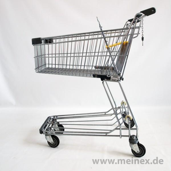 Einkaufswagen Wanzl D85 RC - gelb - gebraucht