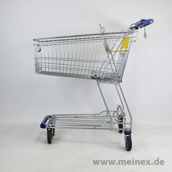 Einkaufswagen WANZL D130RC - gelb - gebraucht