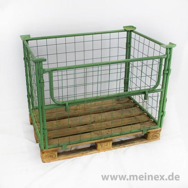 Gitterbox / Gitteraufsatzrahmen Nutzhöhe 800 mm grün - gebraucht