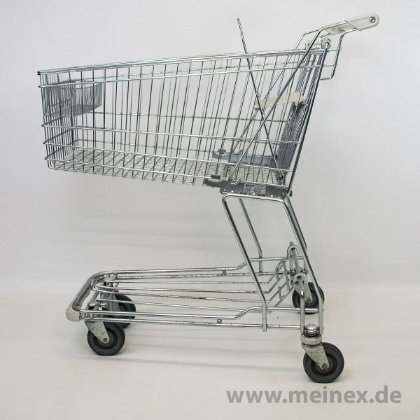 Einkaufswagen WANZL D130RC - weiß - gebraucht