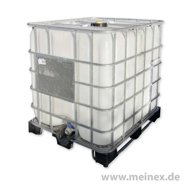 IBC Container - 1000 Liter- UNGESPÜLT auf Palette - gebraucht