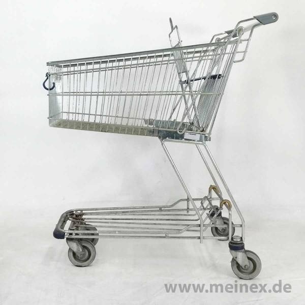 Einkaufswagen Wanzl D101RC - Kindersitz blau - gebraucht
