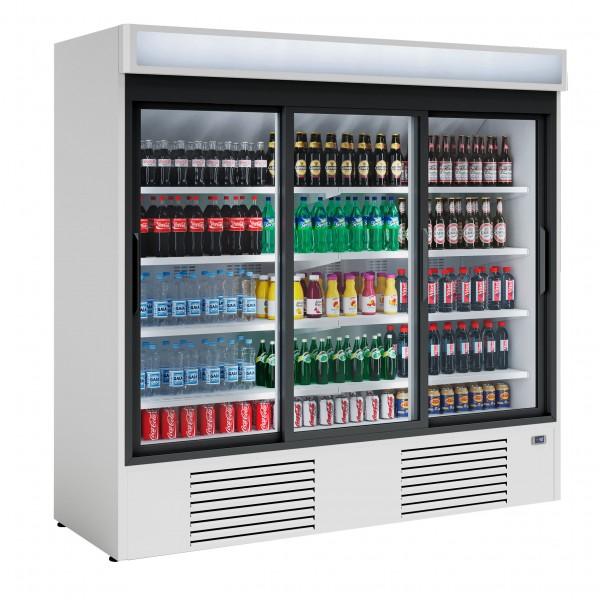 Beverage Refrigerator - with glass doors - 2030 liter - new