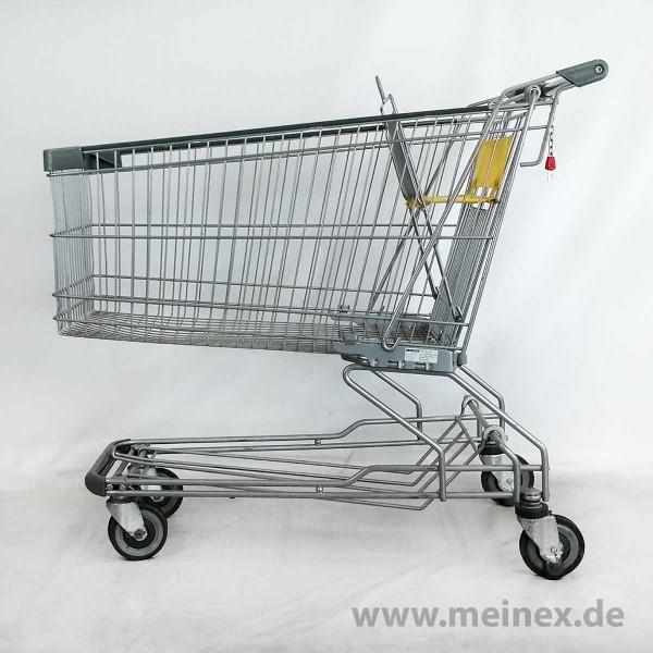 Einkaufswagen WANZL D185 RC - Kindersitz gelb / Fahrsteigrolle - gebraucht