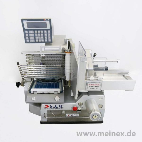 Vollautomatische Aufschnittmaschine S.A.M. 310i T21 - gebraucht