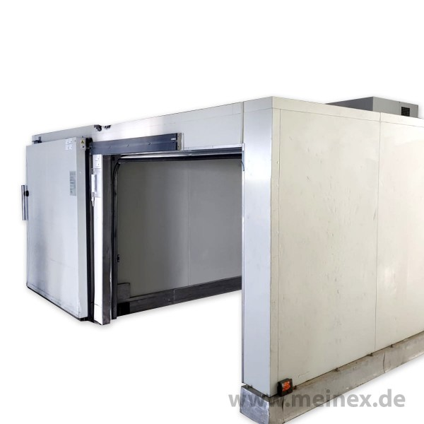 Cold Storage Room Set: Cooling- and Freezing Room - 5.4x4.4 m - used