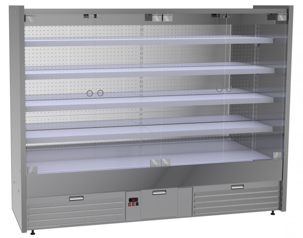 Refrigerated wall shelf Pampero - Length 2500 mm