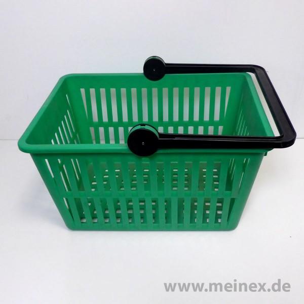 Einkaufskorb / SB-Einkaufskorb - 20 Liter - Grün - Neuware