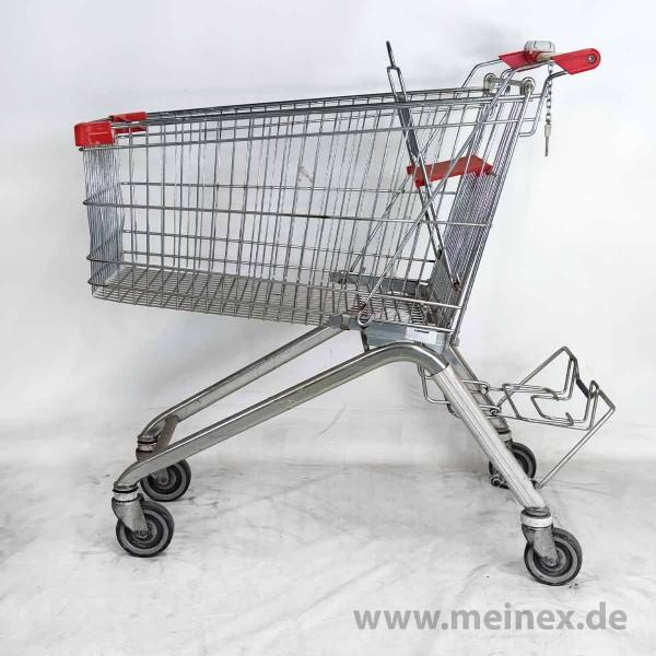 Einkaufswagen WANZL ELX 185 - roter Kindersitz - gebraucht