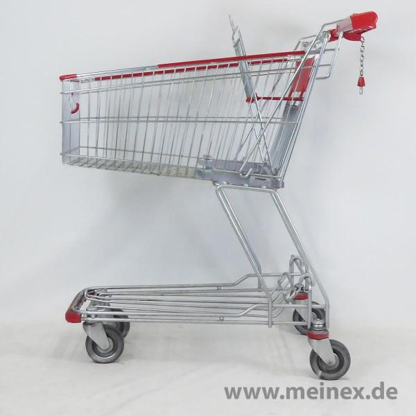 Einkaufswagen Wanzl D 101 RC - Werbegriff - gebraucht