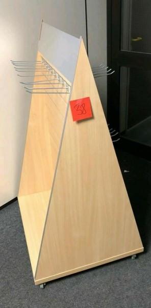 Regal mit Haken Präsenter Pyramide Display - gebraucht