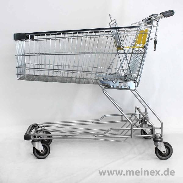 Einkaufswagen WANZL D155 RC - Kindersitz in gelb - gebraucht