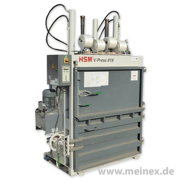 Ballenpresse / Papierpresse HSM V-Press 818 - gebraucht