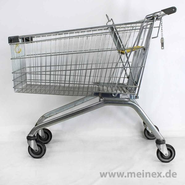 Einkaufswagen WANZL EL 185 - gelber Kindersitz - gebraucht