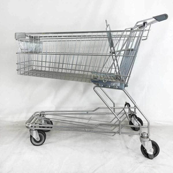Einkaufswagen WANZL D155 RC - Kindersitz in grau - gebraucht