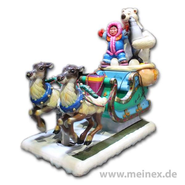 Kiddy Ride - Schlitten - used