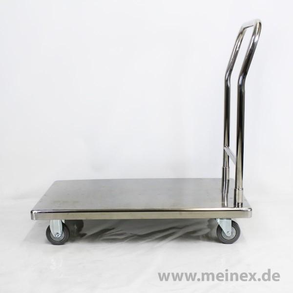 Transportroller Edelstahl - neuwertig