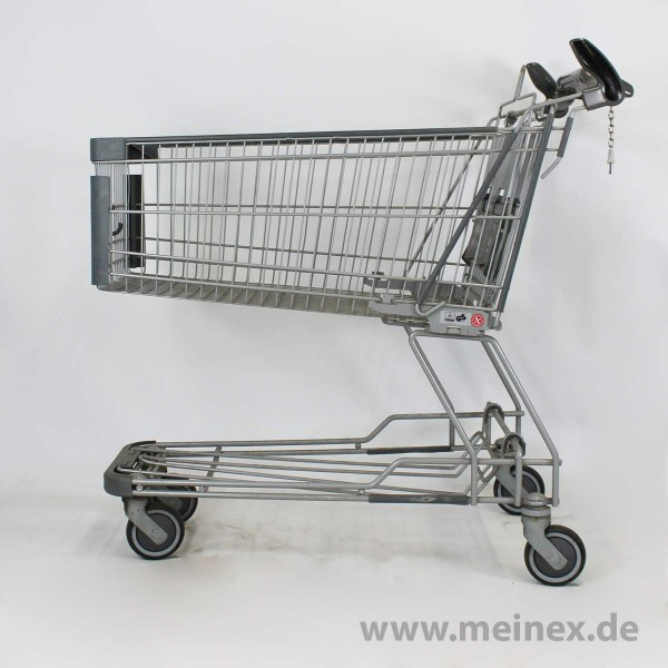 Shopping Trolley Geck GE 155 BT - 142Ltr - Anthracite - Used