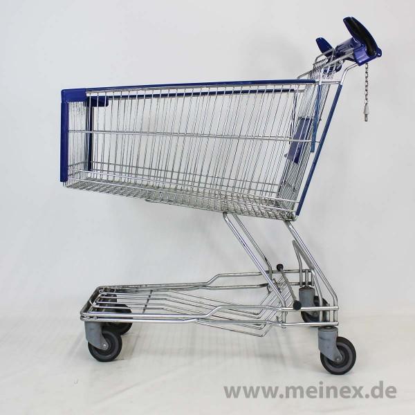 Einkaufswagen Caddie 150 Ltr - blau - gebraucht