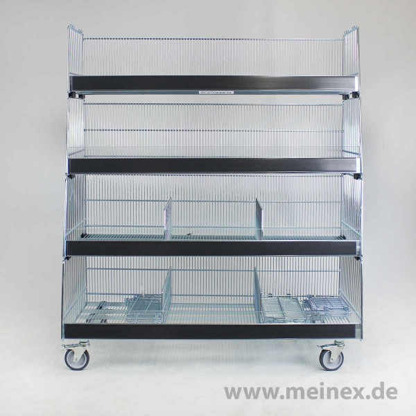 Stapelkorb Kesseböhmer- 4er-Set - gebraucht