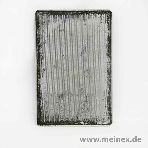 Backblech / Lochblech - 20 VPE - Lochung 3 mm - gebraucht