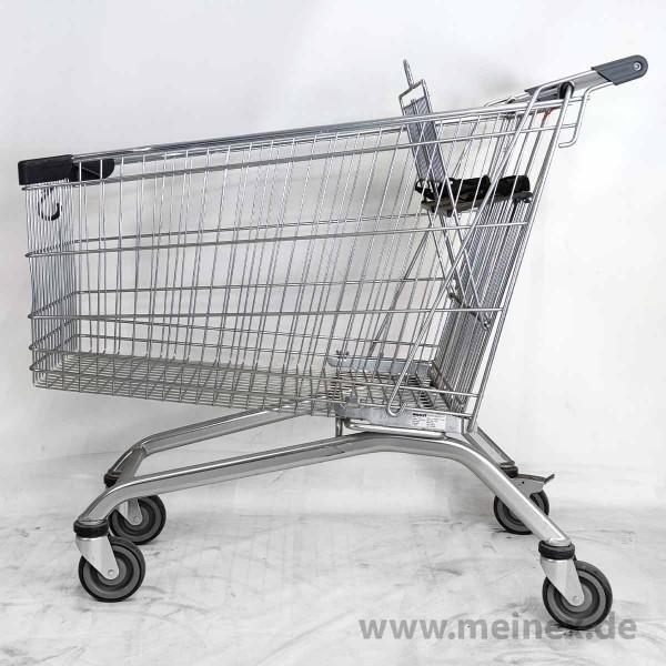 Einkaufswagen Wanzl EL 212 - Kindersitz anthrazitgrau - gebraucht